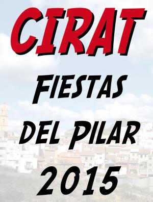 Fiestas Virgen del Pilar Cirat 2015